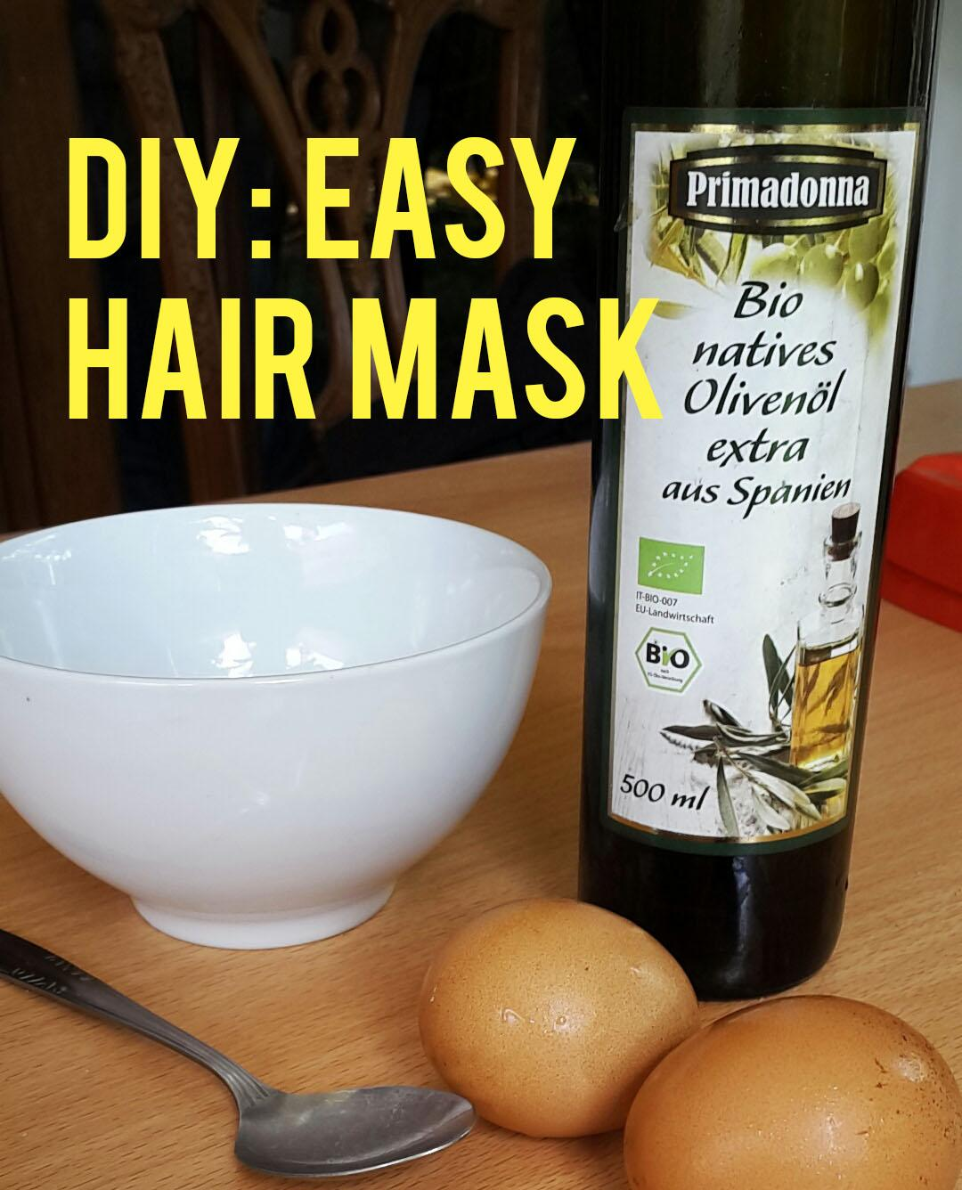 Easy Home-Made Hair Mask For Dry Or Oily Hair
